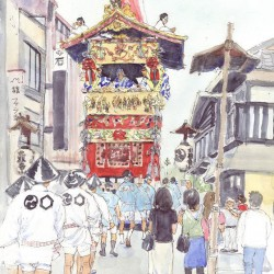 絵はがき「京都の四季」