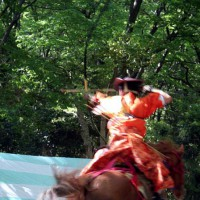 葵祭の前儀 流鏑馬神事