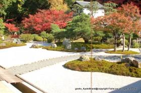 金戒光明寺 枯山水庭園「紫雲の庭」