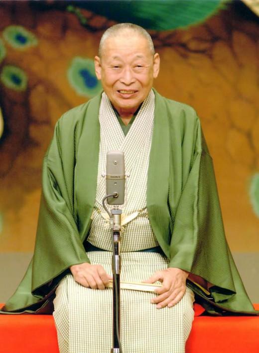 二代目露の五郎兵衛(2009年3月逝去)