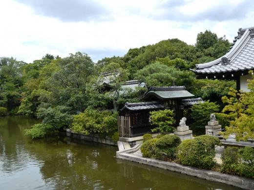 神泉苑お庭