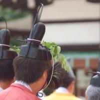 葵祭 斎王のお歯黒とふたば葵