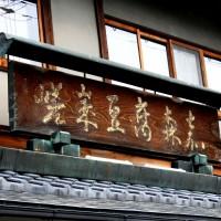 観梅 清凉寺の軒端梅
