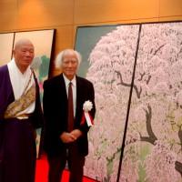 平城遷都1300年祭 本坊障壁画奉納式 奈良県新公会堂