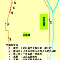 文化遺産 お土居 御土居跡地図