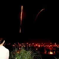 花背松上げ  松上げ 火祭り