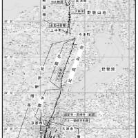 東日本大震災 三方・花折断層帯