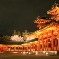 平安神宮 紅しだれコンサート