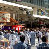 祇園祭 生稚児結納の儀