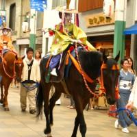 祇園祭 後祭の花笠巡行