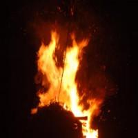 火祭 千日詣 宵弘法 大覚寺大澤池