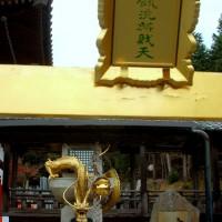 瀧尾神社と本圀寺の龍