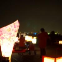 冬の蛍 嵐山花灯路