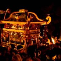 時代祭に鞍馬の火祭