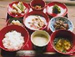 小豆粥 :  小豆粥散飯式