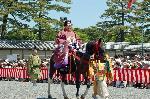 葵祭 路頭の儀 : 陪従 (べいじゅう)