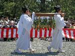 葵祭 路頭の儀 : 御幣櫃(ごへいびつ)
