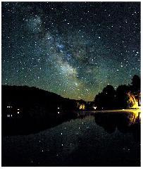 七夕 : 夏の天の川