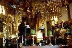 盂蘭盆会 迎え盆 : 仏壇の灯明