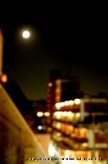 観月祭 : オフィスからも月は見える