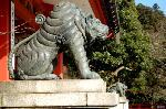 狛犬巡り  : 青銅製の狛虎