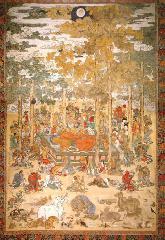 涅槃会 : 京都三大涅槃図のひとつである