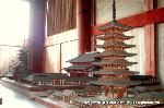 平城遷都1300年祭 : 大仏殿内の模型