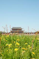 平城遷都1300年祭 : 朝堂院跡は広い大地のままである