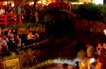 蛍狩り 蛍火の茶会  : 夜の帳が・・・