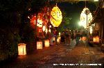 愛宕古道街道灯し : ゆるい灯りは人を包み込む
