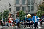 時代祭 : 河原町御池交差点の信長 本能寺は近い