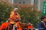 織田信長 時代祭 : 信長と上洛して征夷大将軍に就く