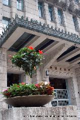 祇園祭 くじ取り式 : 市議会議場ではくじ取り式が行われる