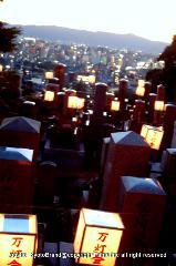 盆の灯り 東大谷万灯会