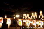 万灯会 東大谷万灯会 : 本殿前広場