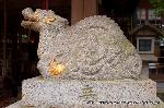 初詣 狛犬 狛龍 パワースポット : 右/天龍