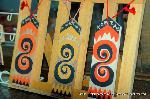 初詣 狛犬 狛龍 パワースポット : 守護札のひとつ