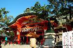 初詣 狛犬 狛龍 パワースポット : 本殿