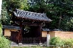 萩 花暦 : 萩の霊場の山門