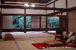 観月茶会 中秋の名月 : 退蔵院方丈