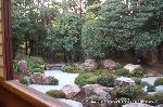 観月茶会 : 元信の枯山水庭園