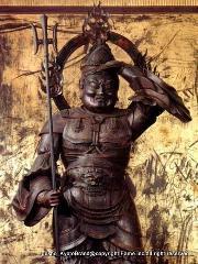 七福神めぐり 七福神まいり : 日本三大毘沙門天 国宝