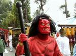 節分 立春 : 怒りの象徴といわれる赤鬼