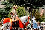 信長忌 : 京都三大祭の時代祭での織田信長