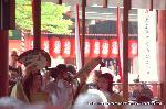 お田植祭  : 神楽女の舞
