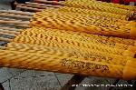 お田植祭  : 稲荷大社の蛇の目傘
