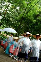 お田植祭  : お田植祭に出仕する講が組織されている
