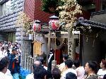 祇園祭 還幸祭 後祭 : 大政所は旧御旅所である