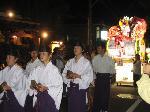 粟田神社大祭 粟田大燈呂 夜渡り神事 : 百八十年ぶりに復活した粟田大燈呂の巡行