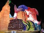 粟田神社大祭 粟田大燈呂 夜渡り神事 : 出世えびす/復活した粟田口の風流